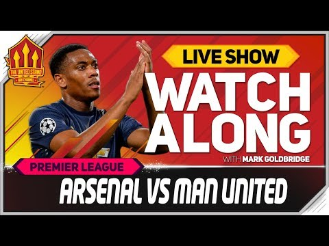 Arsenal Vs Manchester United LIVE Match Chat