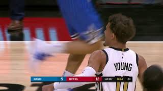 3rd Quarter, One Box Video: Atlanta Hawks vs. Orlando Magic