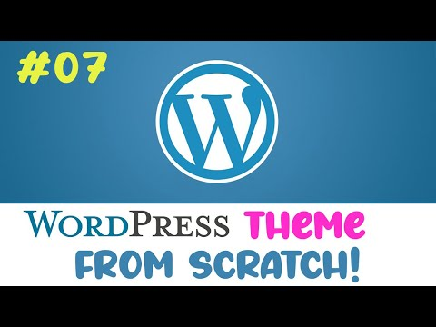 #07 Wordpress theme from scratch | Home page posts | Quick programming beginner tutorial