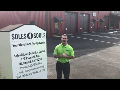 Shoe and Clothing Donation with Soles4Souls