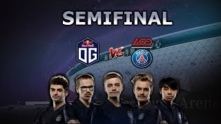 OG vs PSG.LGD - SEMIFINAL ►The International 2019