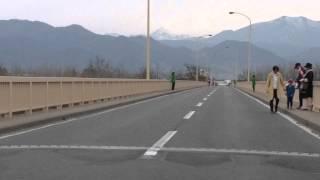 長野マラソン 2015更埴橋東付近
