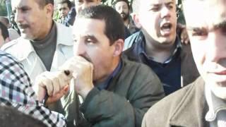preview picture of video 'Sit-in CNAPEST BLIDA 24-01-2012 هتافات الاساتذة'