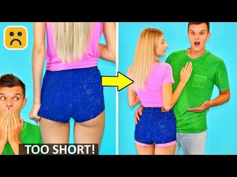 10 Girl Fashion Hacks and Back To School DIY Clothes Ideas