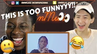THIS IS TOO FUNNYYYY!! TRAVIS SCOTT AND KYLIE JENNER QUESTION THEIR RELATIONSHIP REACTION!!!
