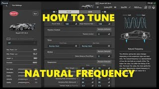 GT SPORT | How to tune NATURAL FREQUENCY SIMPLE