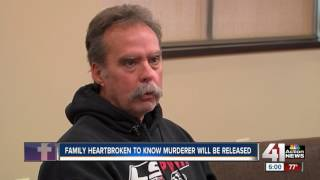 Family heartbroken to know murderer will be released