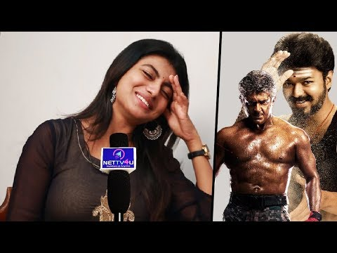 I Will Not Act With Ajith Sir, Will Choose Vijay : Actress Kayal Anandhi Open Interview With Aswath