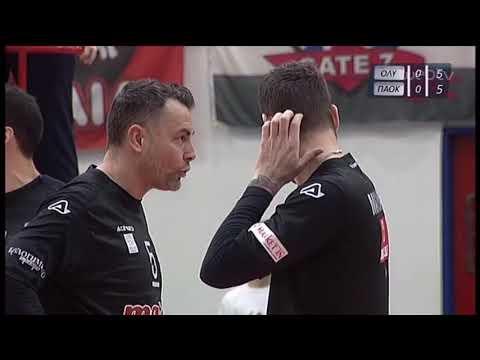 Volley League: ΟΛΥΜΠΙΑΚΟΣ – ΠΑΟΚ | 27/01/2020 | ΕΡΤ
