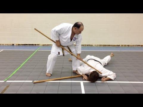 One Minute Bunkai: Bo Jutsu #1
