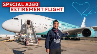 A Special Farewell Flight of Hi Fly A380