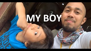 Boding Factura – A Father In The Philippines – Daily Life With My Boy, Ozzy!
