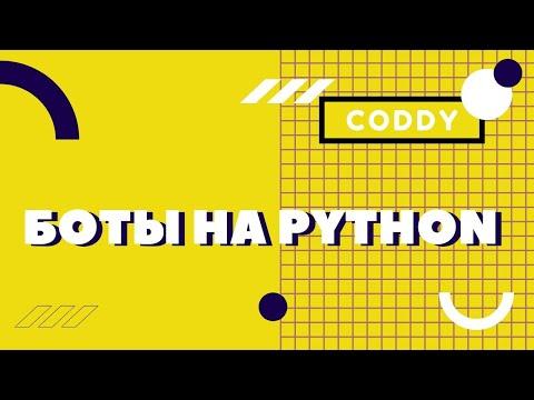 Онлайн-обучение по созданию ботов на Python от онлайн-школы Coddy