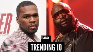 50 Cent: Rick Ross Shooting Was Staged - Trending 10 (01/29/13)