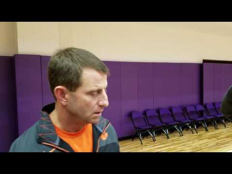 TigerNet.com - Dabo Swinney talks about the College Football Playoff