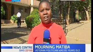 The situation at Lee Funeral home after the late Kenneth Matiba's body spends the night