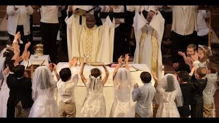 First Communion - Our Lady of the Lake