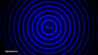741 Hz   Spiritual Detox Frequency   Solfeggio Soundscape Music