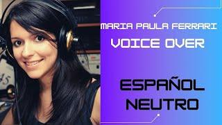 Voice over en español neutro o argentino
