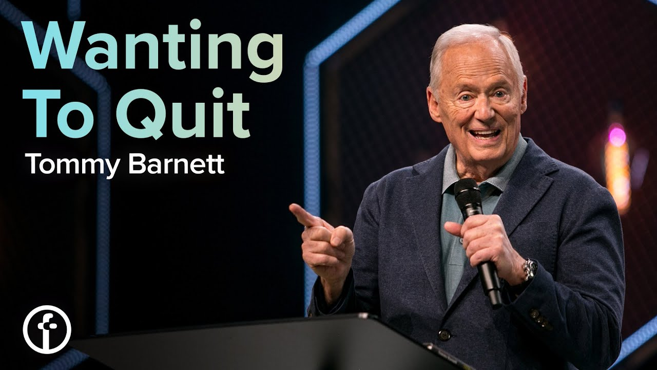 Wanting To Quit by Pastor Tommy Barnett