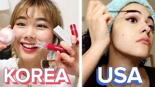 American Vs. South Korean Makeup And Skincare Routines