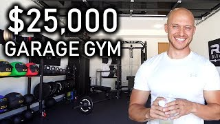 My $25,000 Garage Gym