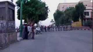 preview picture of video 'لا لقانون الطوارئ أمام مديرية أمن أسيوط'