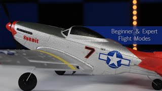RC Airplane For Beginners - P51 Mustang (it's great for chasing with FPV drones too!)