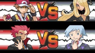 Pokemon: Red & Lance VS Cynthia & Steven | Kholo.pk