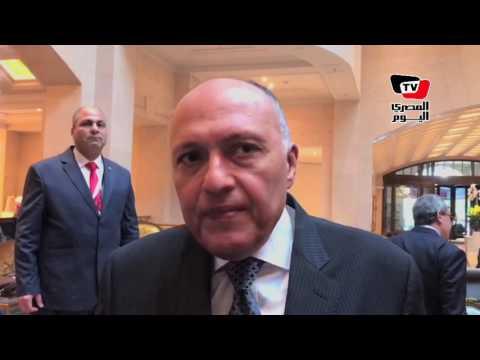 «شكري» يكشف تفاصيل جديدة بشأن «أزمة قطر»