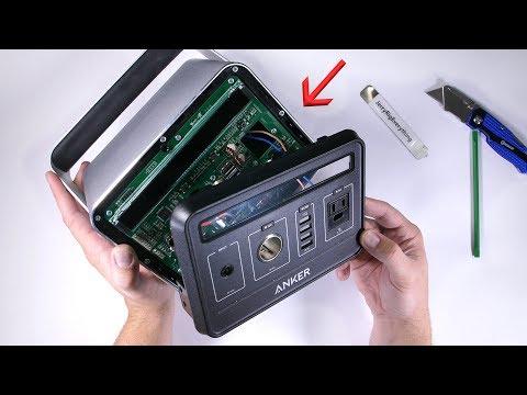 Anker PowerHouse Teardown - Ultimate Off Grid Power Supply!