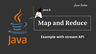 Java 8 Streams | map() and reduce()  Example | JavaTechie