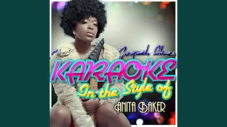 You're My Everything (In the Style of Anita Baker) (Karaoke Version)