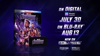 VIDEO: Marvel's AVENGERS: ENDGAME – On Digital 7/30 & Blu-Ray 8/13