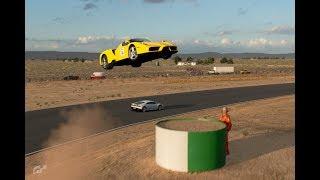 グランツーリスモSPORT AI車を空に飛ばしてしまった