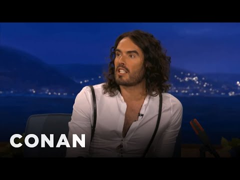 Russell Brand Is Hurt Tom Cruise Didn't Want Him For Scientology - CONAN on TBS