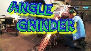 How To Use An Angle Grinder On METAL