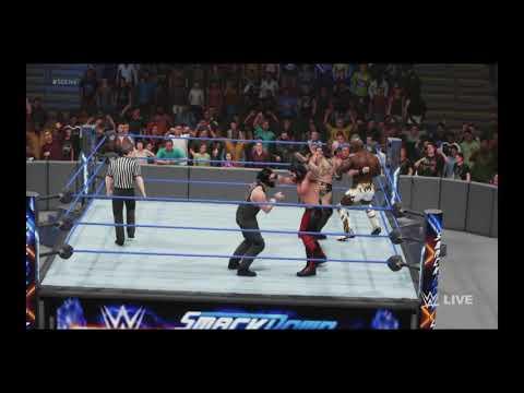 WWE 2K19 WWE Intercontinental Championship Fatal 4 way Match