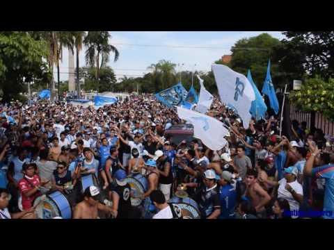 """""""Caravana Bloominista Los Chiflados"""" Barra: Los Chiflados • Club: Blooming"""