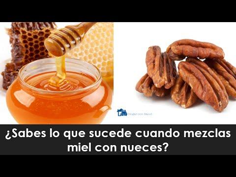 ¿Sabes lo que sucede cuando mezclas miel con nueces?