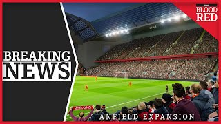 BREAKING: Liverpool's £60m Anfield Expansion Plan Approved