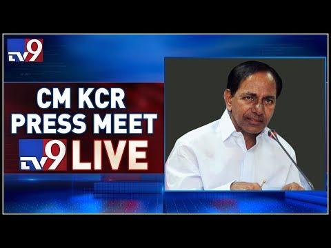 CM KCR Press Meet LIVE After Cabinet Meeting @ Pragathi Bhavan - TV9