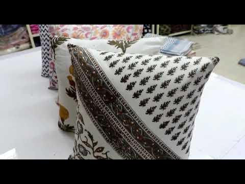 Printed Rug Carpet Durrie Cushion Cover