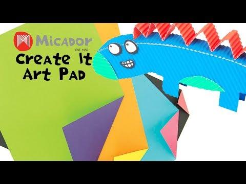 Micador jR. Create It Art Pad - Two ColourMagic, A4