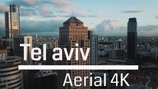 Tel Aviv Skyline (4K) תל אביב מהאויר