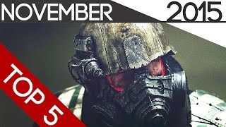 Top 5 Upcoming Games Of November- 2015 (HD)