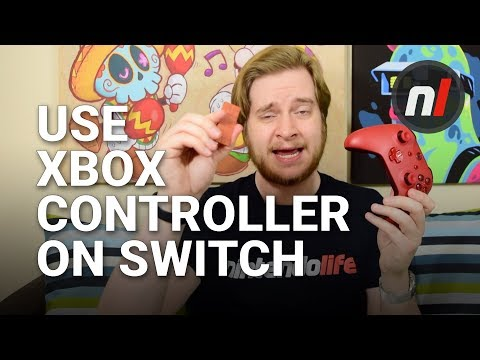 Use an Xbox / PS4 Controller on Nintendo Switch | 8Bitdo USB Wireless Adapter