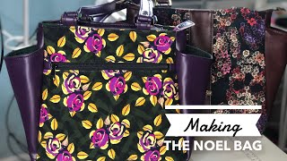 20. Making The Noel Handbag - Modifications On The IThinkSew Sewing Pattern Bag