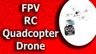 DBPOWER X400W FPV RC Quadcopter Drone with WiFi Camera Live Video 2020