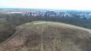 preview picture of video 'Michaelsberg in Ludwigshafen von oben (Parrot Bebop)'